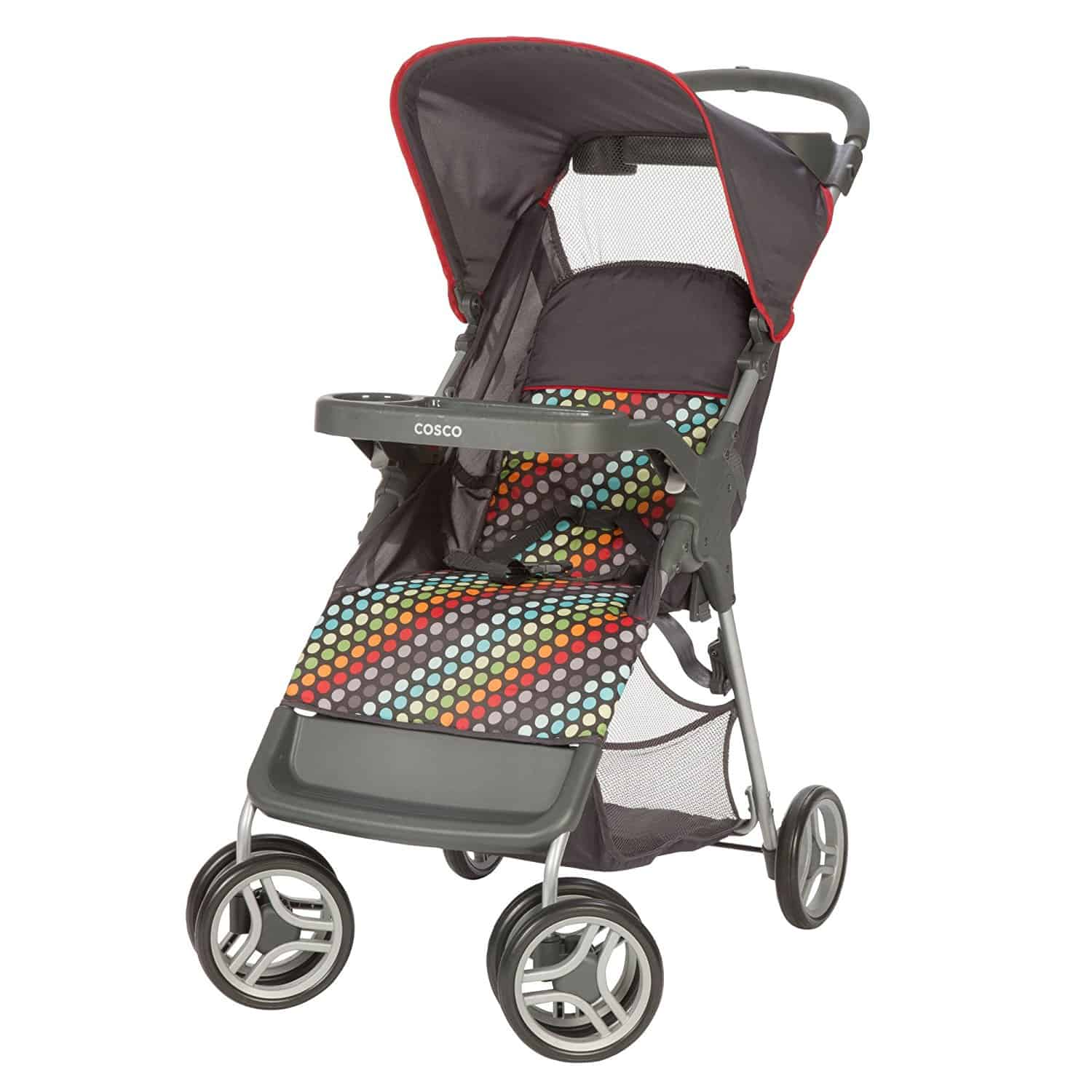 The Mamas&Papas Armadillo is a modern looking lightweight stroller that is designed for busy parents who like to run errands, going to the park, or a shopping mall.