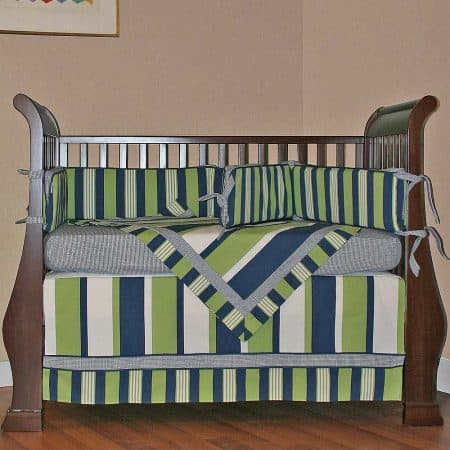 Hoohobbers crib bedding Lacrosse Crib Bedding brand review: Hoohobbers.