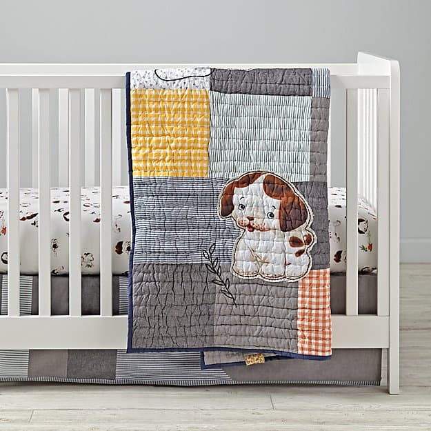 Crib Bedding Brand Review Land Of Nod Baby Bargains