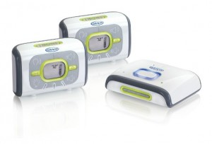 Graco Direct Connect Digital Baby Monitor with 2 Parent Units