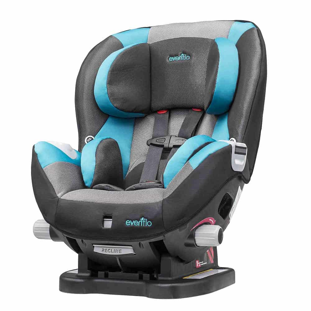 convertible car seat review evenflo triumph baby bargains. Black Bedroom Furniture Sets. Home Design Ideas