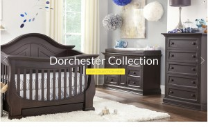 Eco-Chic Baby nursery furniture Dorchester collection at Babies R Us