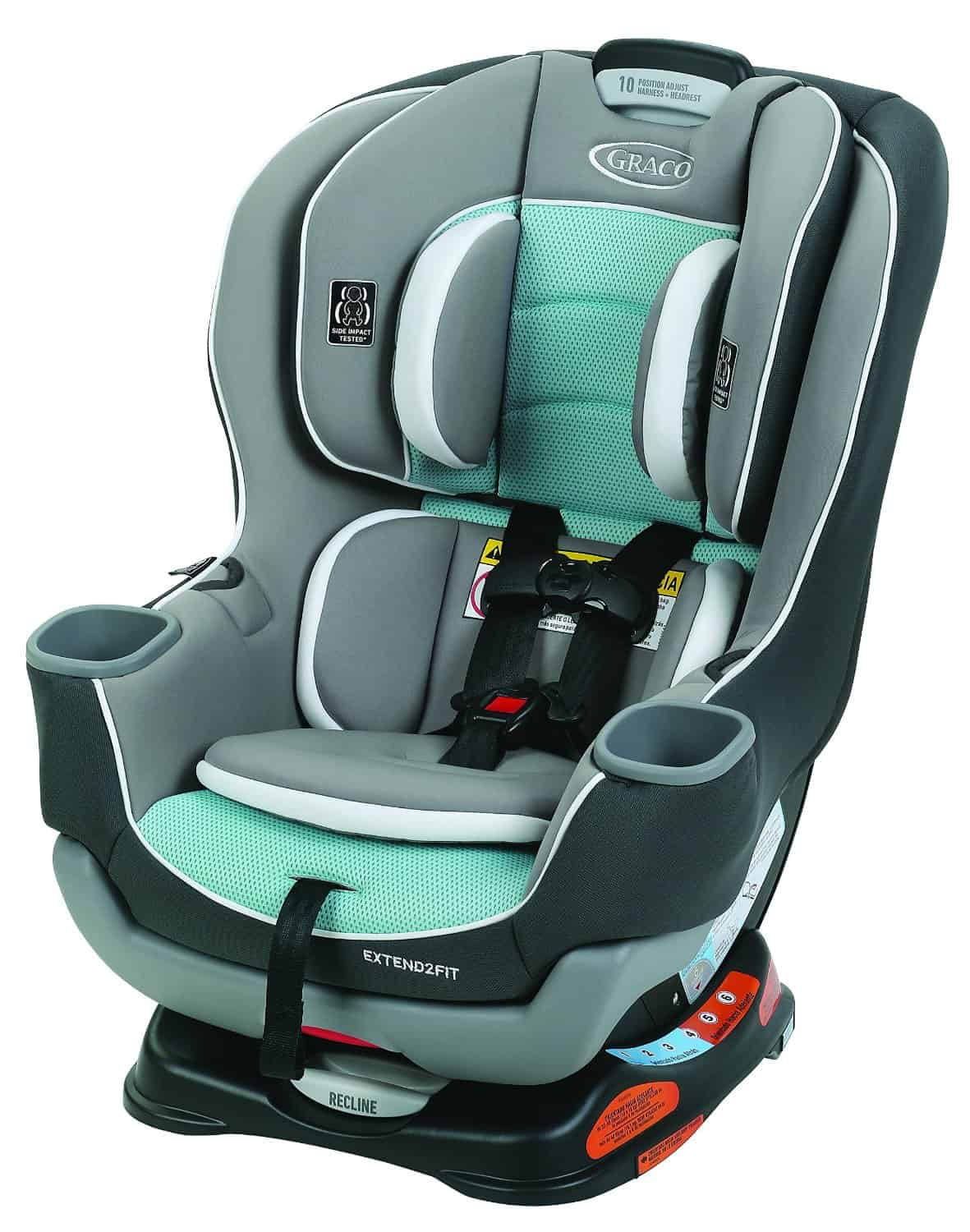 Convertible Car Seat Review: Graco Extend2Fit