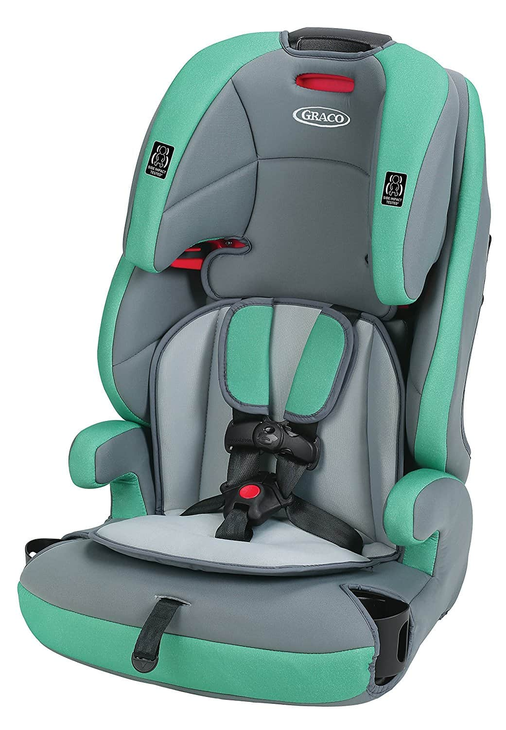 booster car seat review graco tranzitions baby bargains. Black Bedroom Furniture Sets. Home Design Ideas