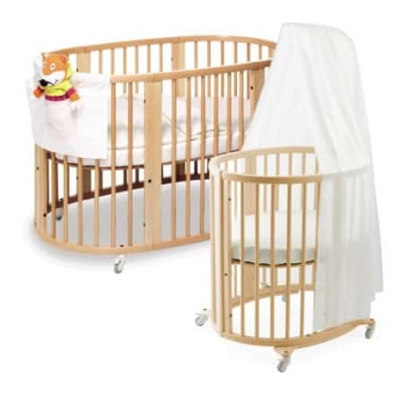 Best baby crib y baby bargains for Baby bed with wheels