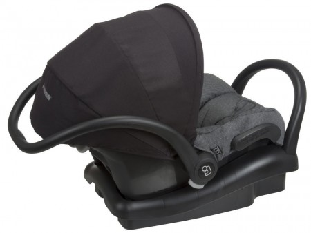 Anti-rebond bar (at right) on the Maxi-Cosi Mico Max 30 Special Edition Infant Car Seat,