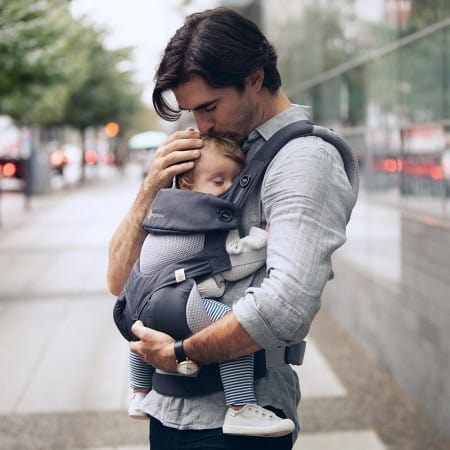 ERGObaby 360° baby carrier with Cool Air Mesh