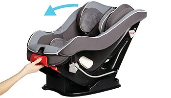 How easy is it to recline the seat, especially rear-facing?