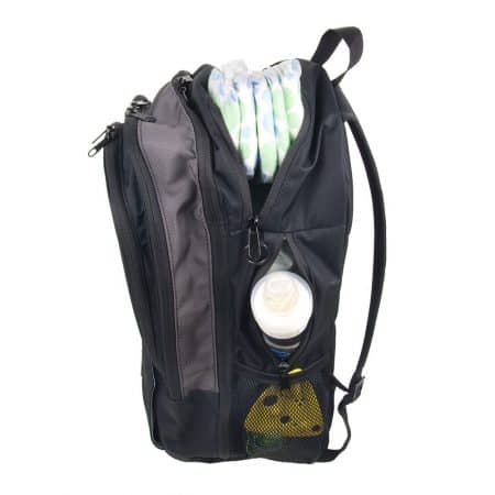 DadGear Backpack Diaper Bag pockets