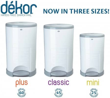 The best diaper pail y baby bargains for Dekor mini diaper pail