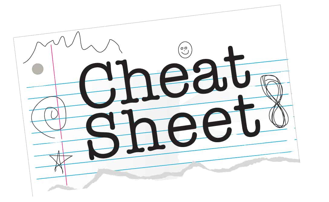 Baby Registry Cheat Sheets