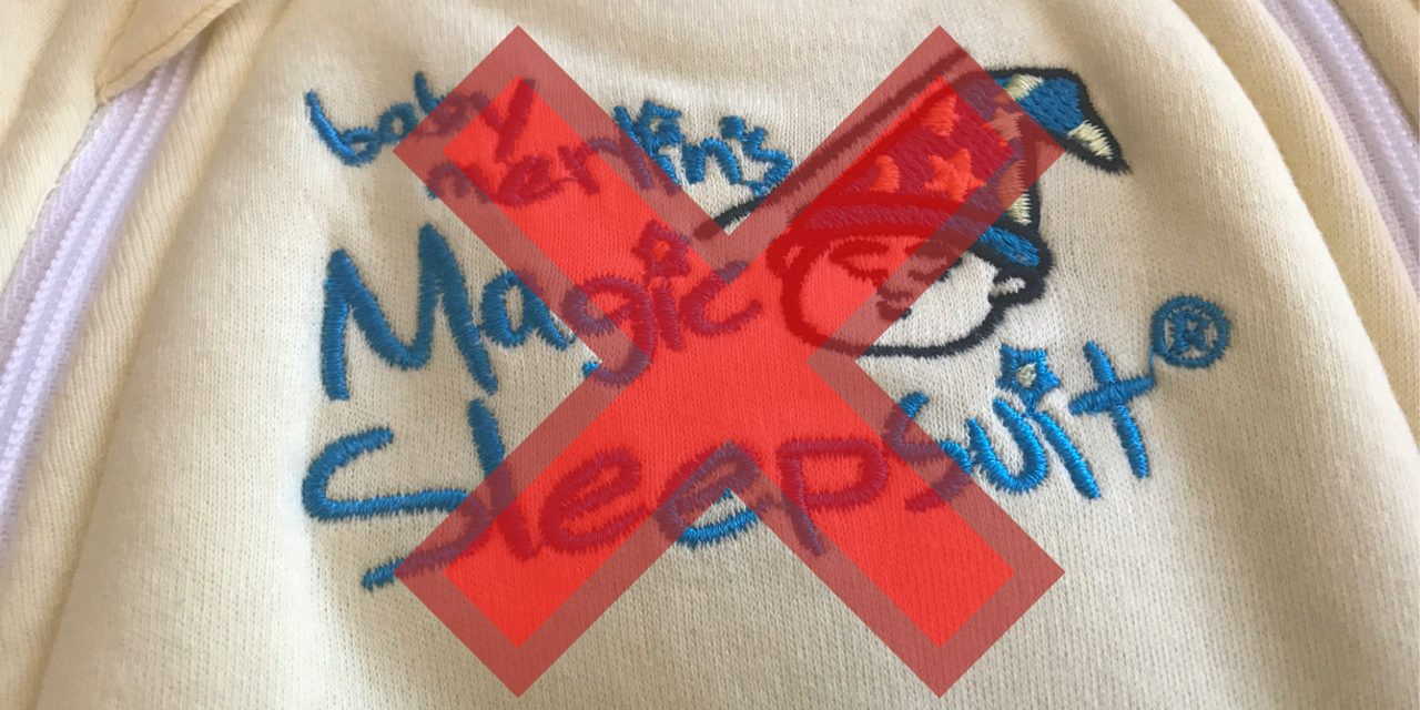 Baby Merlin's Magic Sleepsuit Review: NOT RECOMMENDED