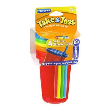 First Years Take & Toss Spill proof straw cups