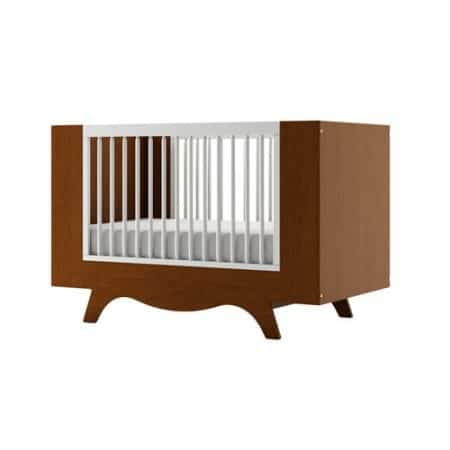 Dutailier Mango Crib - Two Tone - Harvest and White