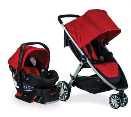 Britax B-Lively Travel System with B-Safe 35 carseat