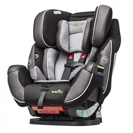 Convertible Car Seat Review: Evenflo Symphony