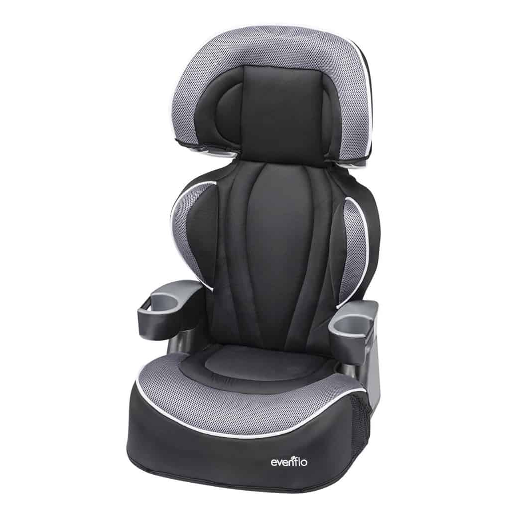 Booster Car Seat review: Evenflo Big Kid | Baby Bargains