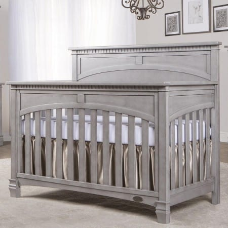 Evolur Santa Fe 5-in-1 Convertible Crib - Storm Gray