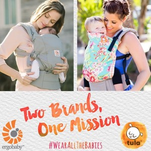 Ergo buying Tula baby carriers