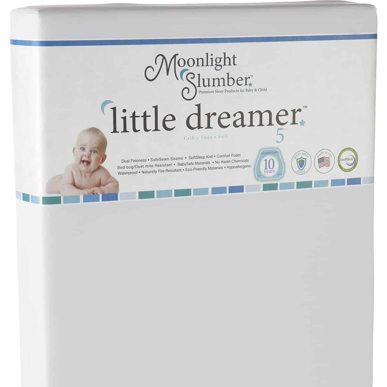 Best Baby Crib Mattress Little Dreamer Moonlight Slumber