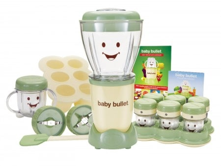 Baby Bullet steamer/processor best food processor