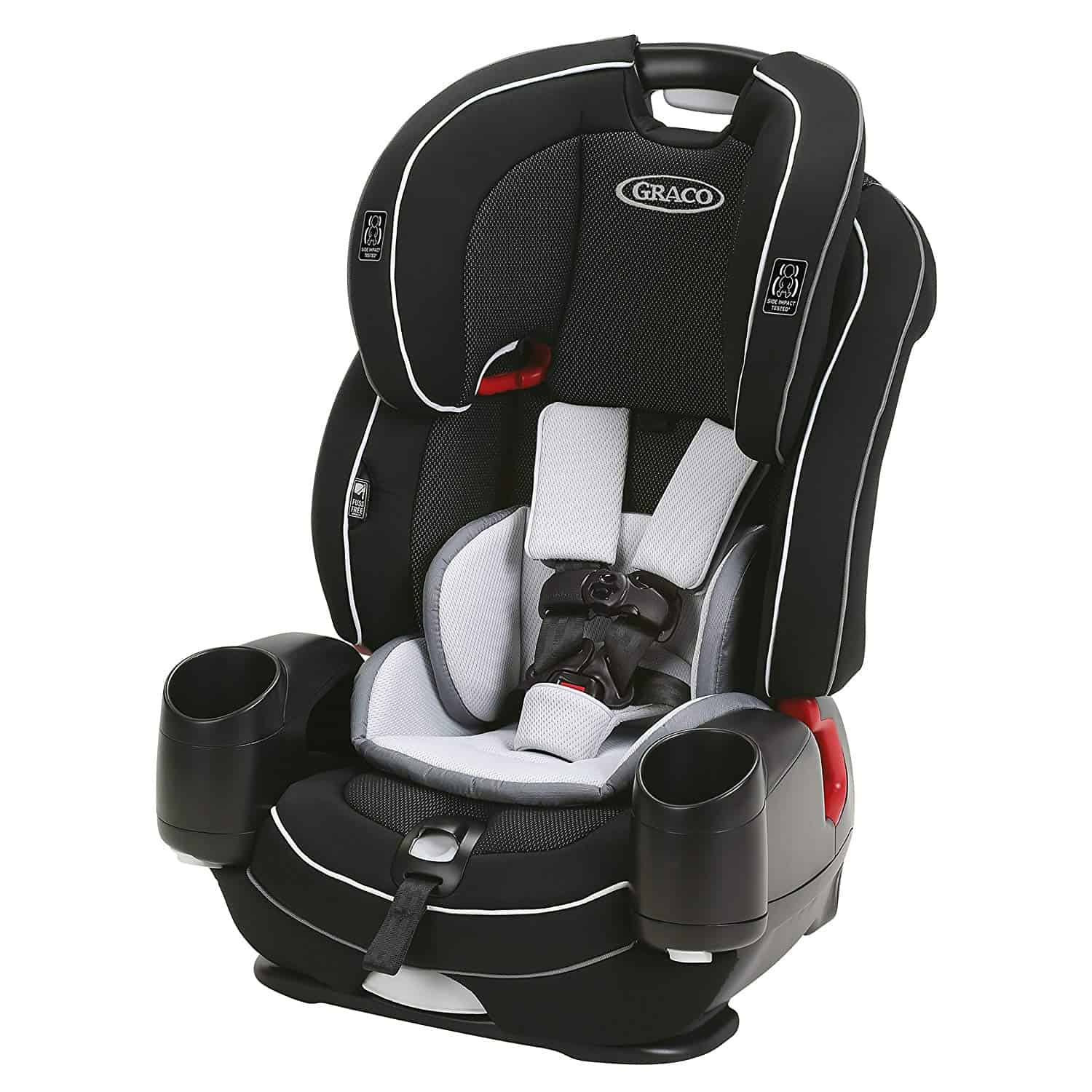 Best Booster Car Seat Graco® Nautilus SnugLock 3-in-1 Harness Booster
