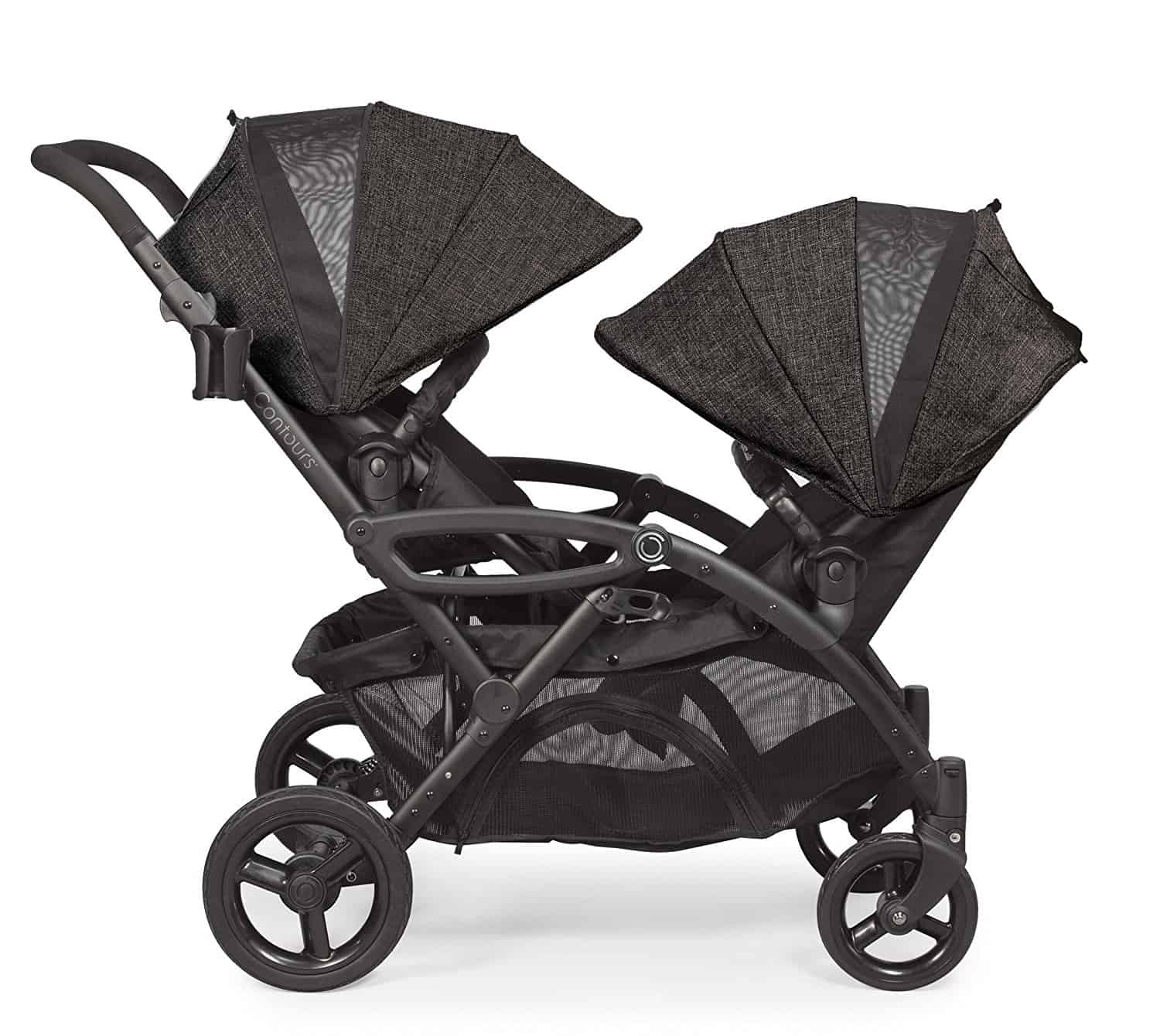 Contours Options Elite Tandem Double stroller seats facing in