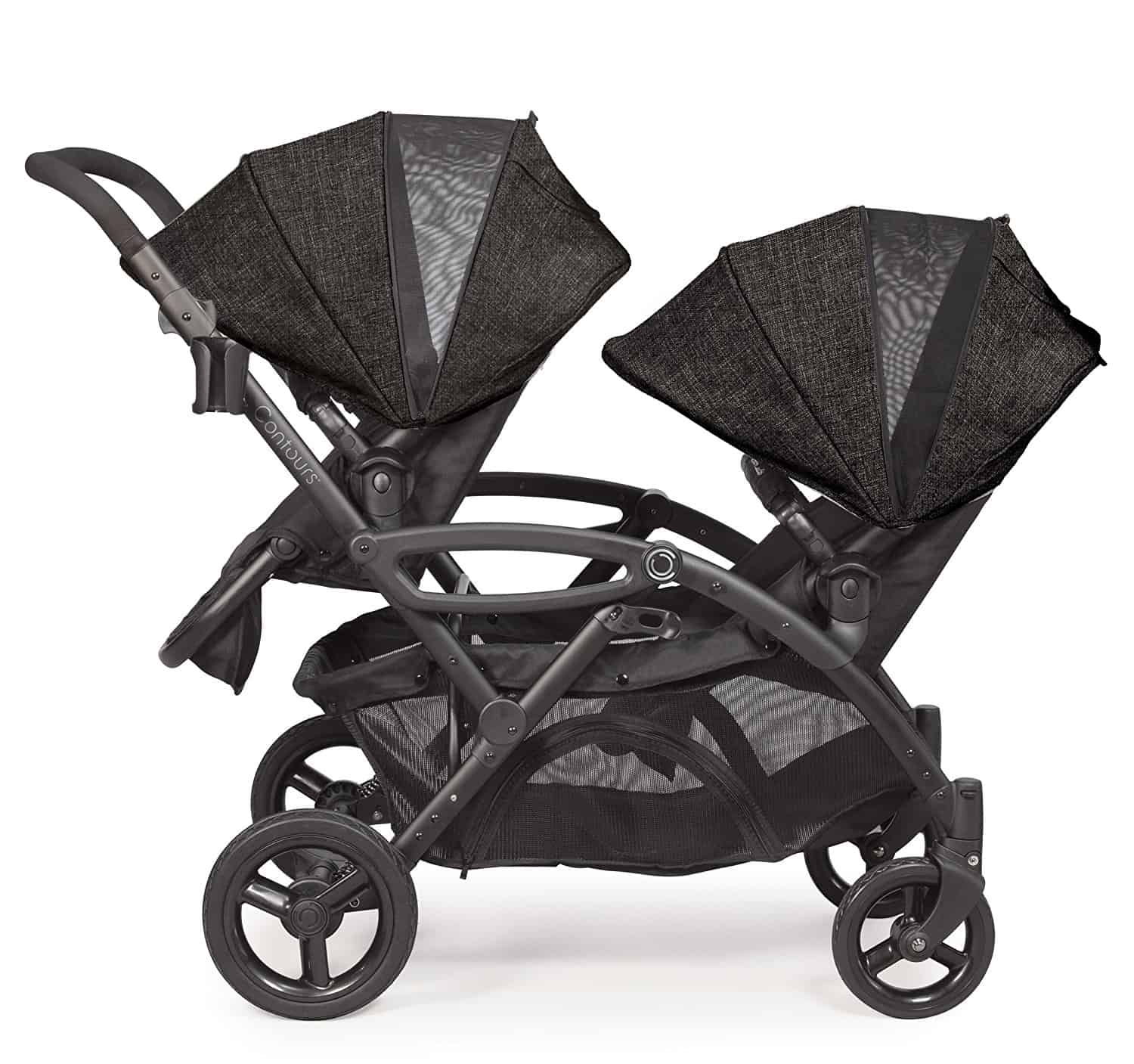 Contours Options Elite Tandem Double Stroller two toddler seats best double stroller