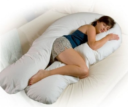 Petite Comfort U Total Body Support Pillow