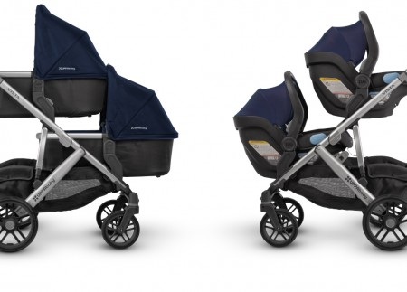 UPPAbaby Vista two bassinets