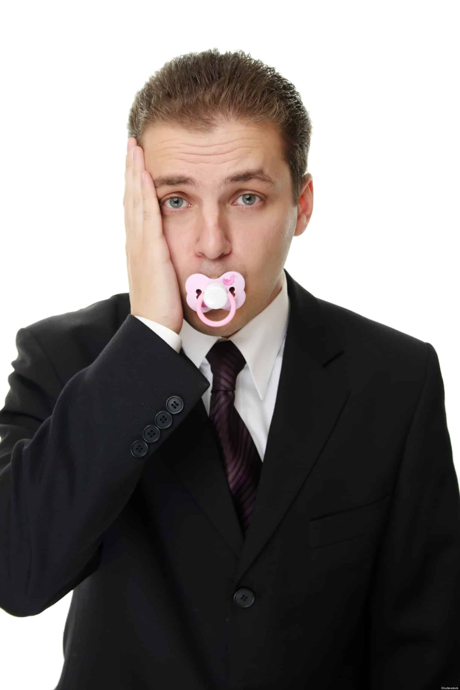 adult with paci