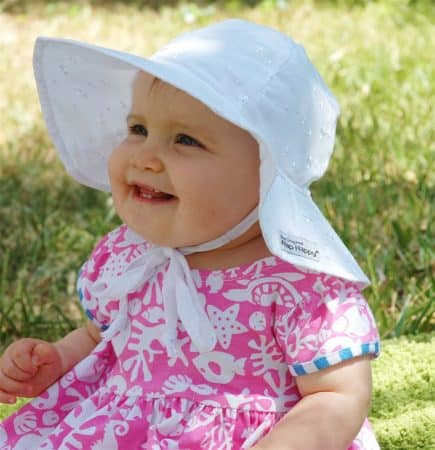 FlapHappy baby hat Best Sunscreen for Babies 2021