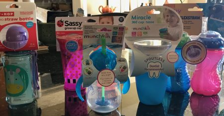 "Sippy Cup Smackdown: We tested these ""spill proof"" cups to see if they could stand up to real toddlers"