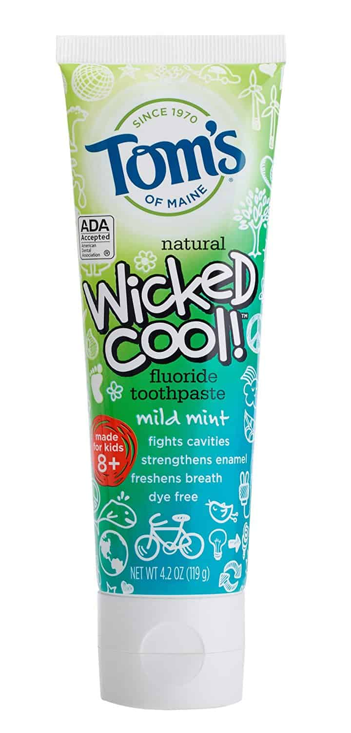 Tom's of Maine Natural Wicked Cool Fluoride Toothpaste