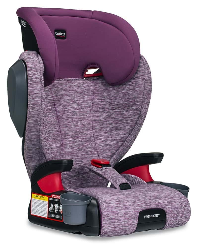 Booster Car Seat review: Britax Highpoint