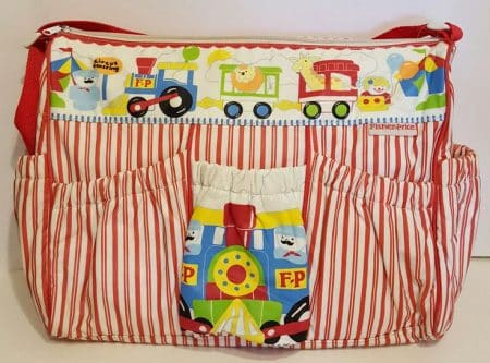 diaper bag from the 1970's