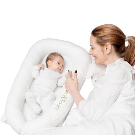 While the DockATot is pitched as multi-functional baby lounger, it is most often featured as a co-sleeper.