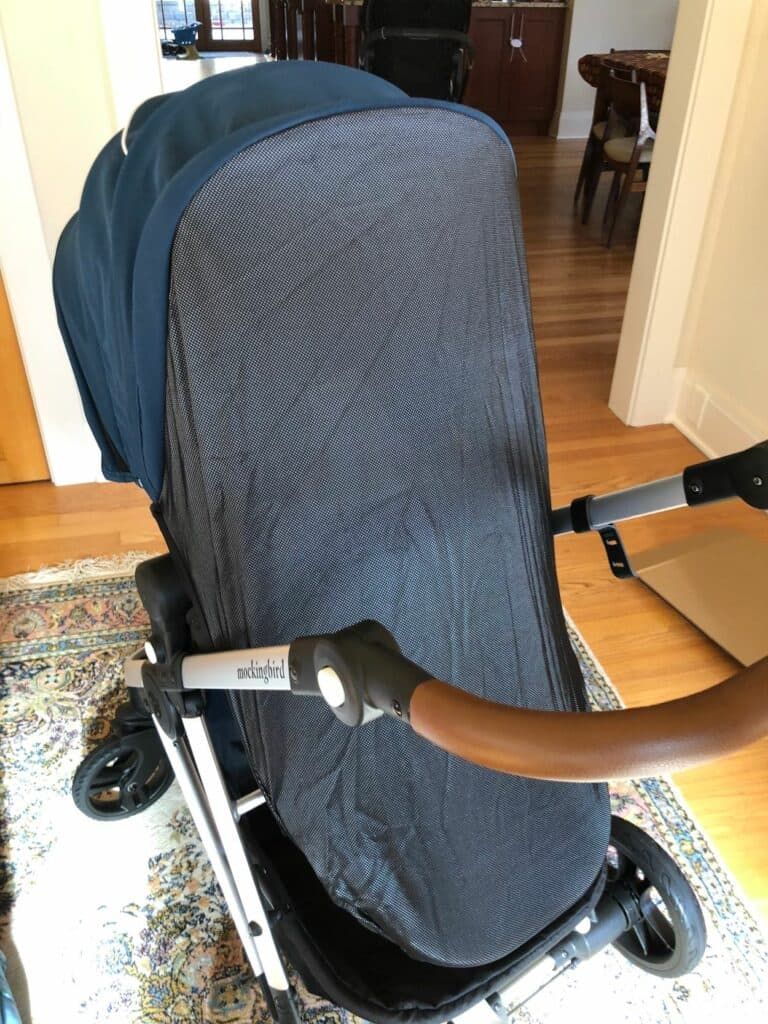 mockingbird stroller detachable sunshade