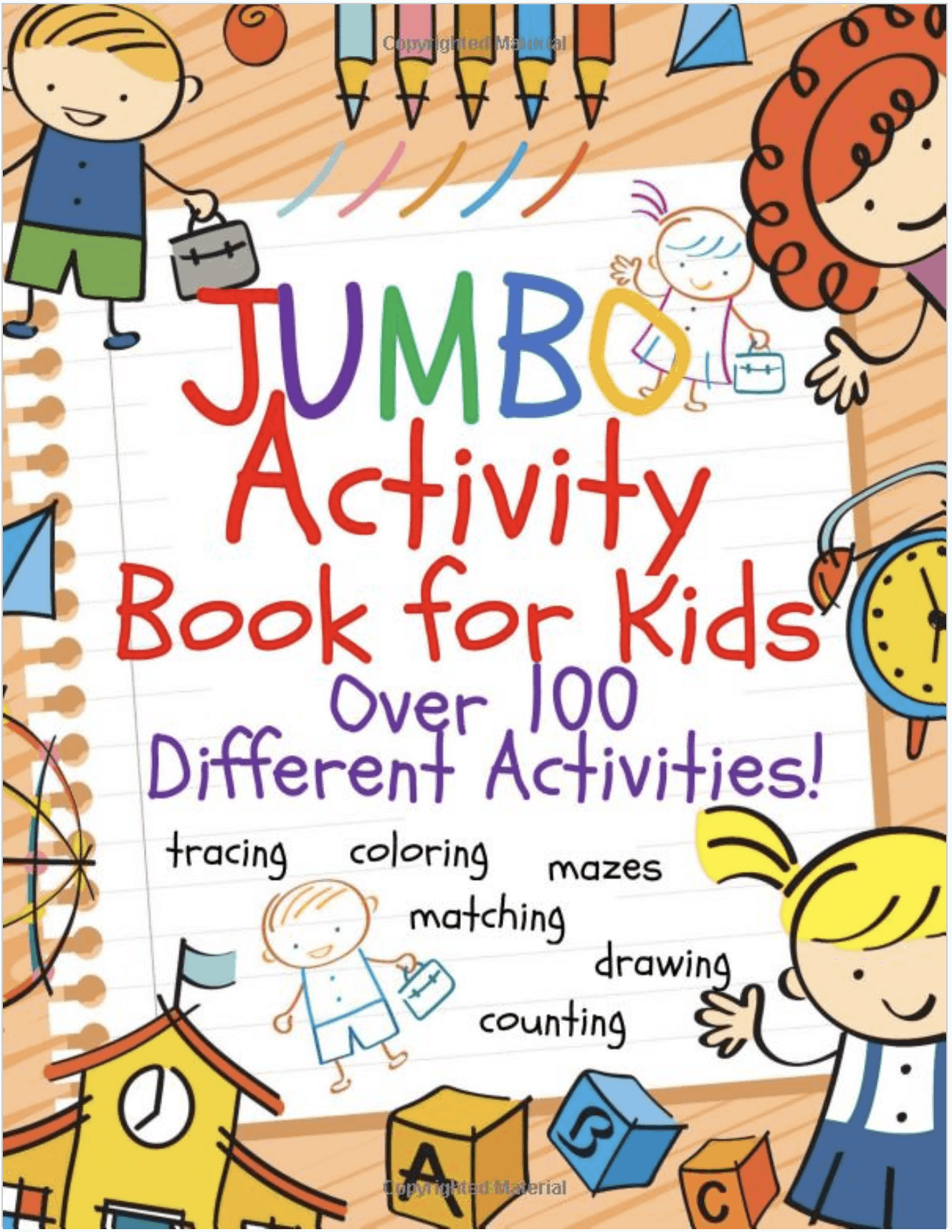 Best Activity Books For Kids Ages 4-8