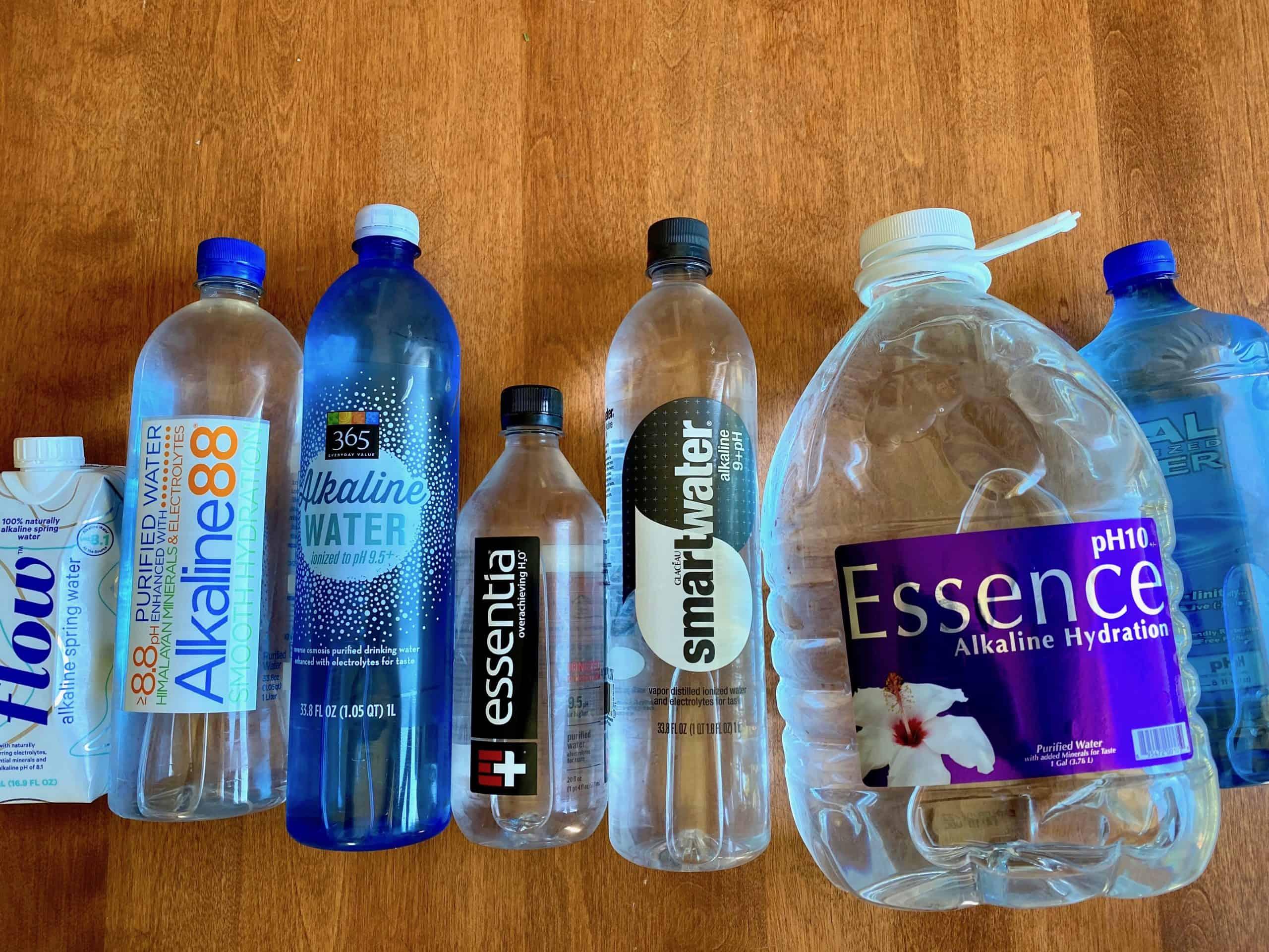 Alkaline water taste test brands